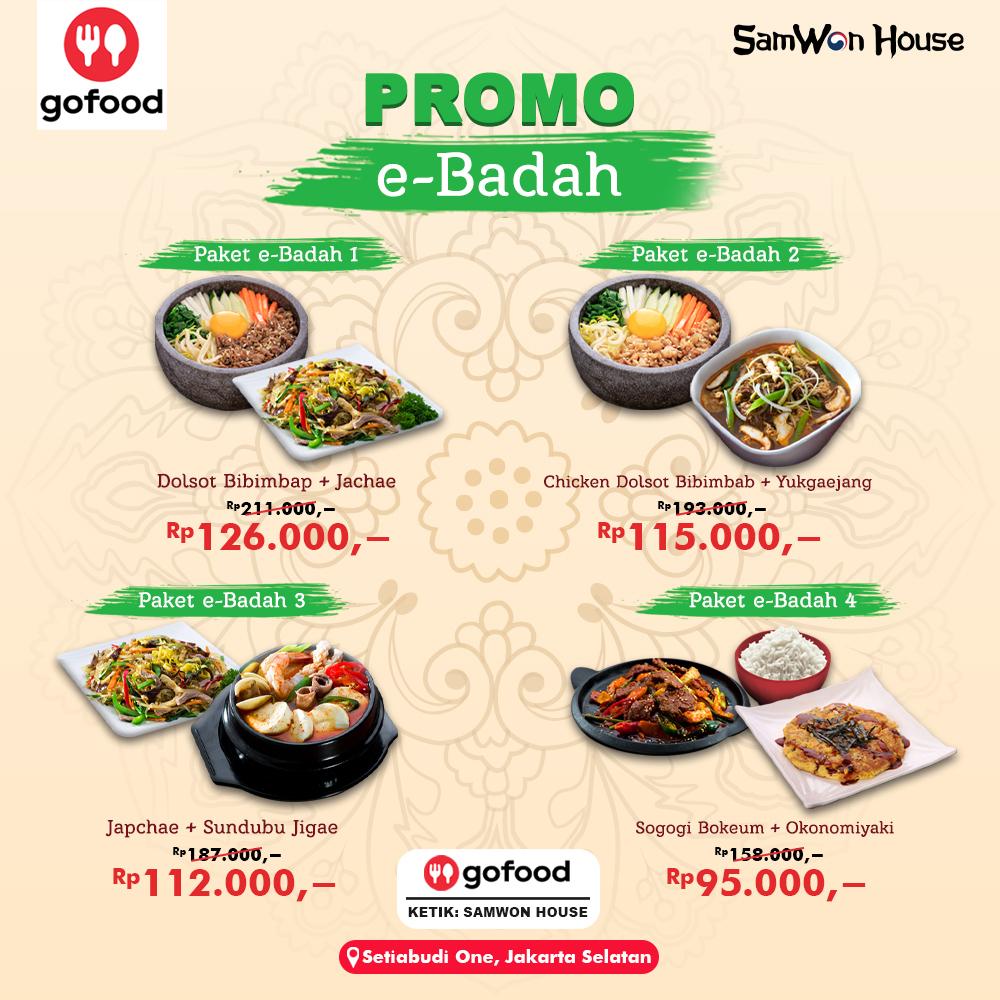Promo External Gofood - Ebadah