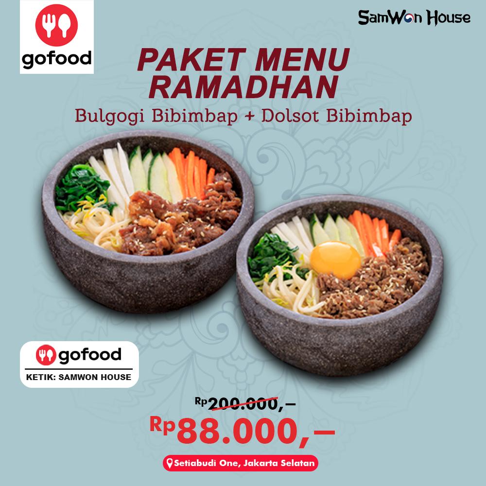 Promo External Gofood - Paket Ramadhan 1