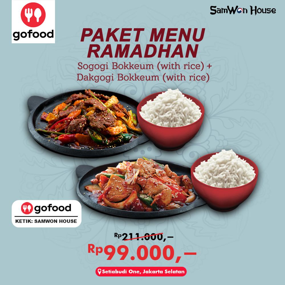 Promo External Gofood - Paket Ramadhan 2