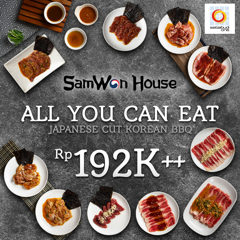 Promo Internal AYCE Japanese Cut Korean BBQ
