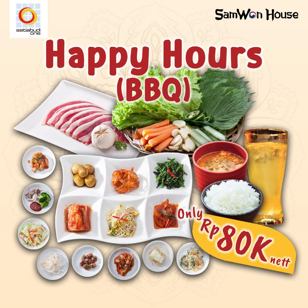 Promo Internal Happy Hours BBQ